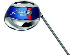 The Adams Blue Driver is designed to get the ball in the air quickly, without sacrificing distance or looks. This Driver is ready to be put into play without any extra configuration or messing with settings. New Golf Clubs, Distance, Play, Design, Long Distance