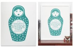 Russian Doll - Turquoise | The Calm Gallery
