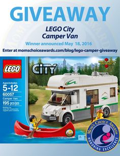 I just entered to win this LEGO City Camper Van set on the Mom's Choice Awards® blog!