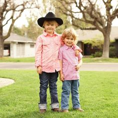 Just two cowgirls.