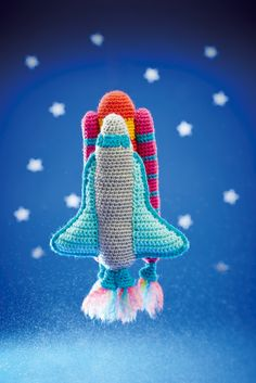 Lost In Space: Arlo's Spaceship & Rocket Crochet Pattern