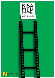 Short film festival poster by Kursat Unsal.