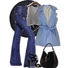 Colete de alfaiataria azul da marca Coleteria ♡ - Coletes femininos e infantis - Coleteria | sempre♡