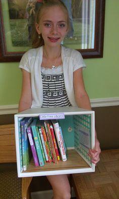 Sophia's Little Free Library