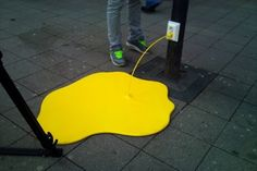 #yellow street art