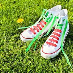 Crazy Laces | Suck UK @bonjourbibiche #lacets #mode #summer #fraise #converse #shoes