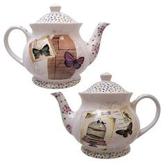cloth-ears - With Love Tea Pot by Disaster Designs