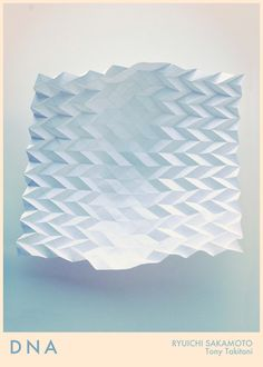 Paper Tesselation Poster by Martine Strøm, via Behance