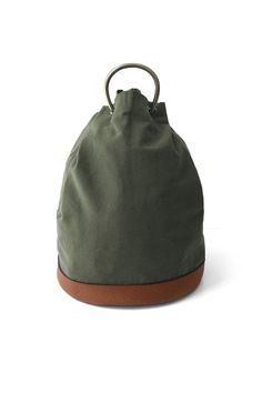 OLD JOE & Co ★★★ - EXCLUSIVE DUFFLE POUCH - OLIVE/BROWN