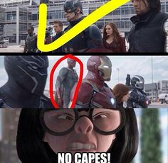 #teamcap Edna approves. If she knew Thor she'd flip