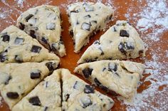 Chocolate Chunk Scones recipe on justataste.com