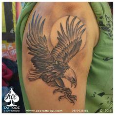 Best Tattoo Studio in Mumbai Tattoos 3d, Navy Tattoos, Eagle Tattoos, Life Tattoos, Body Art Tattoos, Sleeve Tattoos, Hawk Tattoo, S Tattoo, Color Tattoo