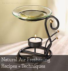 Natural air freshening recipes + techniques!!