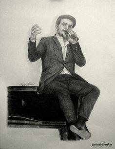 Ignazio   9x12 graphite