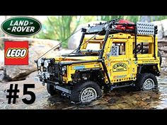 LEGO Land Rover Defender Camel Trophy Experience with SBrick. Episode 5 - YouTube