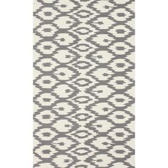 nuLOOM Handmade Modern Ikat Trellis Grey Rug (6' x 9') - Overstock™ Shopping - Great Deals on Nuloom 5x8 - 6x9 Rugs
