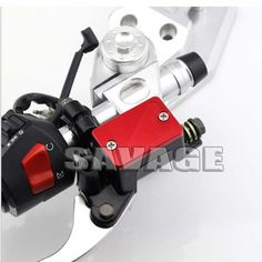 For HONDA CBR 125R/150R/250R/300R/400R/500R Motorcycle Accessories Front Brake Reservoir Cover Red