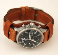 Sinn Flieger w/ Jurgens Bund Pad and Strap by J. Mark Bertrand, via Flickr