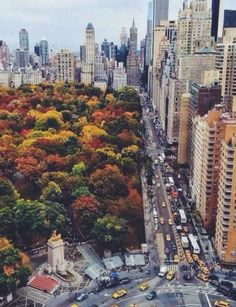 autumn in NYC. Columbus Circle natural no-build zones are critical in controlling urban sprawl. although central park does not condense nyc it shows that designated no-build zones can exist in the most demanding places New York Trip, New York City, Places To Travel, Places To Go, Ville New York, Autumn In New York, Nyc Fall, Nyc In The Fall, Columbus Circle