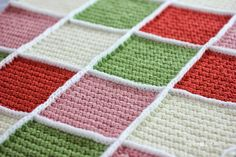 Repeat Crafter Me: How to Join Solid Granny Squares