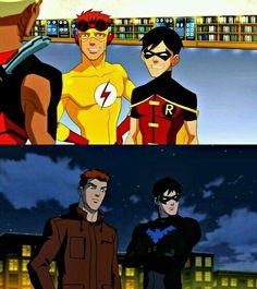 Wally & Dick, throu time.