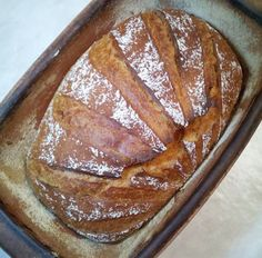 Buttermilk crust from the Roman pot - recipes Tapas, Buttermilk Cornbread, Types Of Flour, Spelt Flour, Catering Food, Bread Recipes, Banana Bread, Oven, Baking