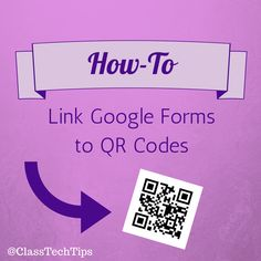 Learn how to link Google Forms to QR codes in this easy and quick tutorial. Teachers who use Google Forms in their classrooms, this is for you!
