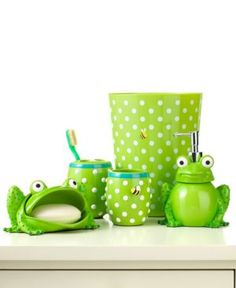 Jay Franco Bath Accessories Froggy Toothbrush Holder Bedding 32281039219 Create The Atmosphere Of Frog Bathroomsmall