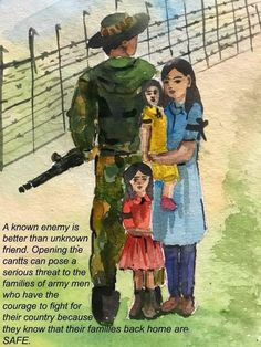 Love Army Quotes, Dad Quotes, Army Wallpaper, Mobile Wallpaper, Army Men, Military, Drawing Competition, Indian Army, Save Water