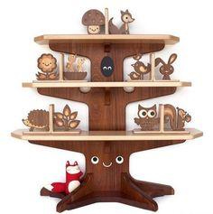 Cute bookshelf design