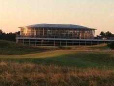 Durch die Kombination der #Doppelstock #Zelthalle 'Premier' mit der 360-Grad #Zelthalle  'Panorama' entstand eine #Eventlocation für die #KLM #Open
