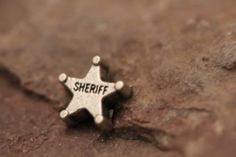 Sheriff Star/Deputy/Police Floating Charm - Fits all brands of glass lockets