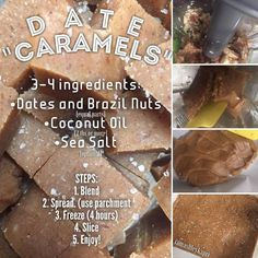 Alkaline Vegan date caramels with Dr Sebi approved ingredients