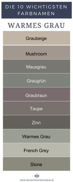 Warm shades of gray are gray-beige mushroom mouse gray gray-green greyish brown taupe . House Color Schemes, House Colors, Warm Grey, Brown And Grey, Gray Green, Wall Colors, Paint Colors, Gris Taupe, Warm Home Decor