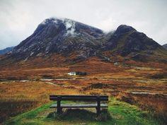 Скамейка для размышлений в Шотландии