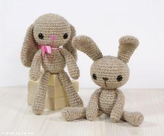 crochet bunny 20 Free Amigurumi Patterns to Melt Your Heart