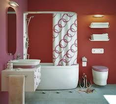 rózsaszín a fürdőben