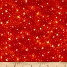 Nite Owls Stars Orange  Designed by Judy Hansen for Paintbrush Studios for Fabri-Quilt, this cotton print is perfect for quilting, apparel and home décor accents. Colors include white, yellow and shades of orange.