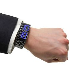 Armour Cladded LED Watch | hart Cool Gifts
