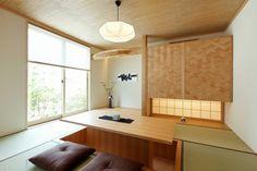 Japanese Home Design, Modern Japanese Architecture, Japanese Home Decor, Japanese Modern, Japanese House, Japanese Living Rooms, Tatami Room, Japan Interior, Wood Interiors
