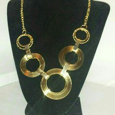 Gold Neckkace Statement Jewelry Necklaces