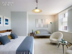 mid century modern art interiors