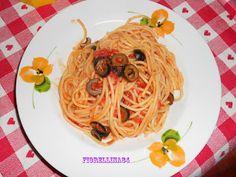 Le Delizie di Fiorellina84: Spaghetti con le olive