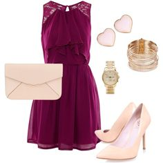 """Wedding guest outfit"" by anamariameciu on Polyvore"