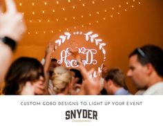 When simplicity makes a BIG impact can you afford to not have THIS at your event?  How our design team uses a quarter shaped piece of metal to create a buzz and brand for your special evening! All of the details in our latest blog link in bio. #nashvilledj #corporate #wedding #snyderentertainment #blogger #blog #nashville #dj #lighting #lightingdesign #gobo #events #eventpros #eventprofs #nashvillewedding