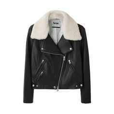 Acne / Rita Leather Jacket | La Garçonne My dream jacket. <3