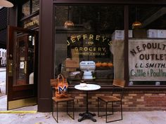 Jeffrey's Grocery (Oysters!) http://jeffreysgrocery.com/ 172 Waverly Pl  (between Christopher St & Grove St)