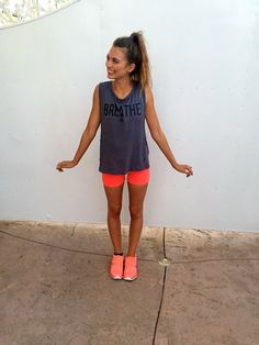 cute workout clothes!