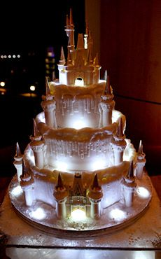 Inspiration Gallery - Wedding Cakes | Disney's Fairy Tale Weddings & Honeymoons