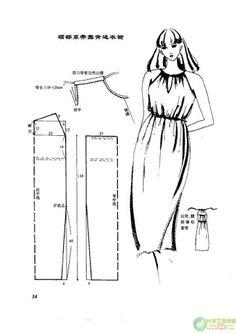 vestidos moldes - Raquel Antunes - Álbuns da web do Picasa